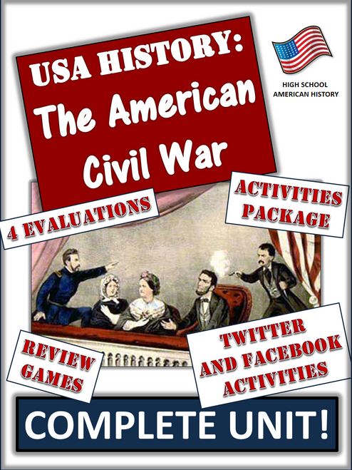 Civil War Unit Bundle: Over 130 Pages/Slides of Dynamic Activities and Resources