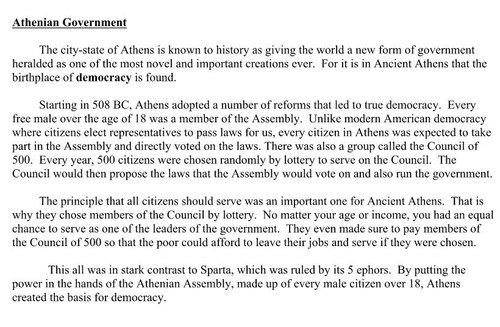 athens vs sparta government