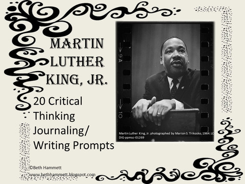 Martin Luther King, Jr. Writing Prompts - Amped Up Learning