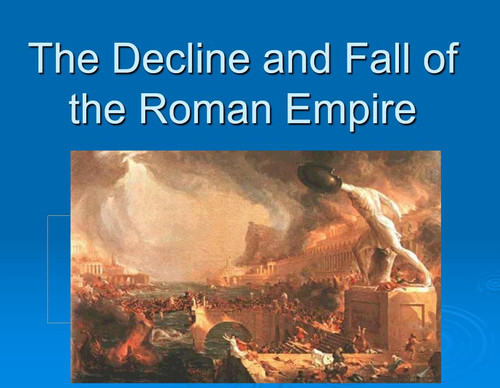 Decline and Fall of the Roman Empire Newspaper Activity