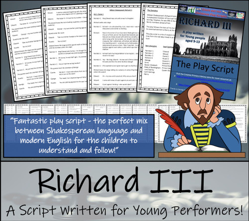 Richard III Play Script for Young Performers