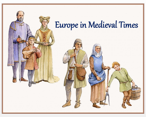 """Europe in Medieval Times"" + DBQ Assessments"