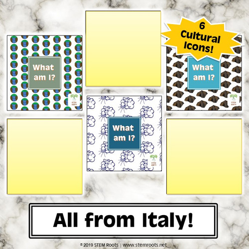 Bundle: Italy Cultural Discovery Cards 6-Pack
