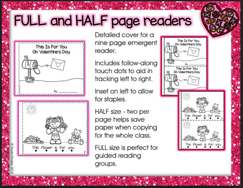 Valentine Pocket Chart Story and Printable Readers