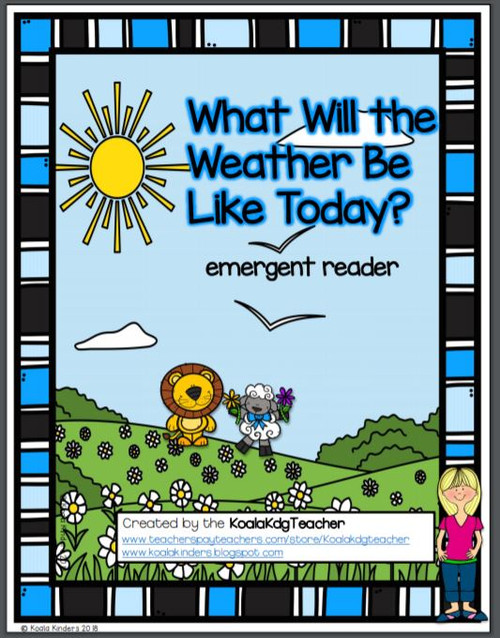Emergent Readers for Spring