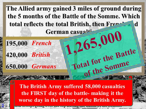 What Do You Know About World War I