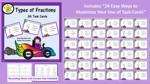 Identifying Types of Fractions