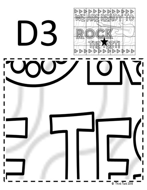 Test Prep Collaborative Poster! Team Work Activity