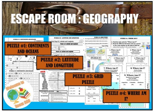 Escape Room-Geography