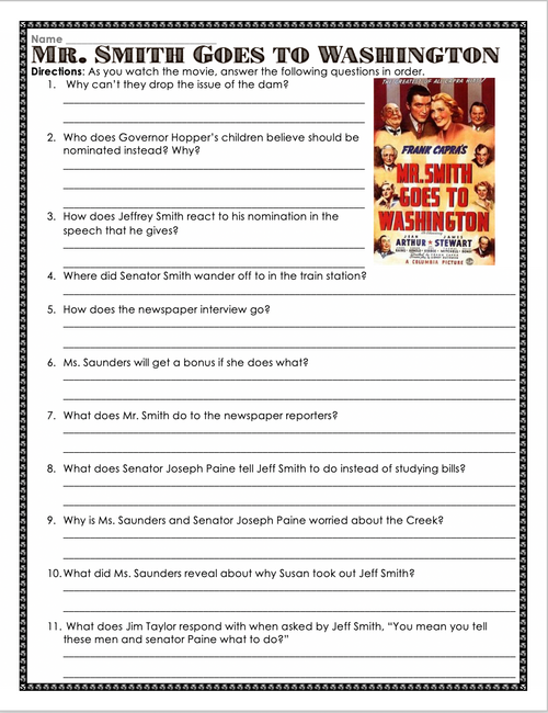 Mr. Smith Goes to Washington Movie Guide