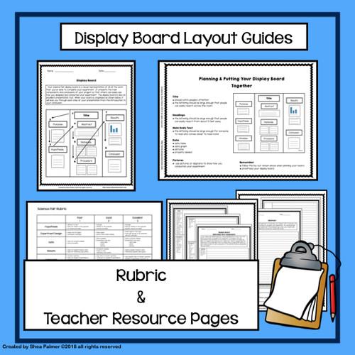 Science Fair Display Board Planning Guide