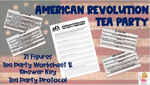 American Revolution Tea Party