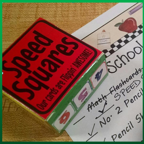 Math SPEED SQUARES!!! Teacher Try It Special