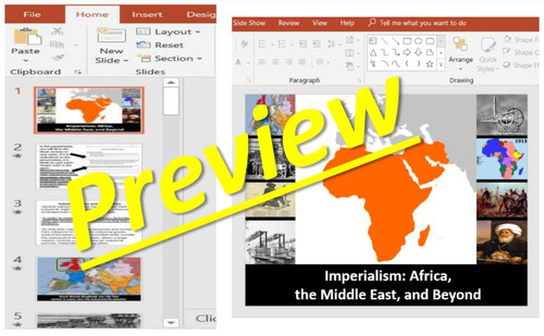 Imperialism: Africa and the Middle East