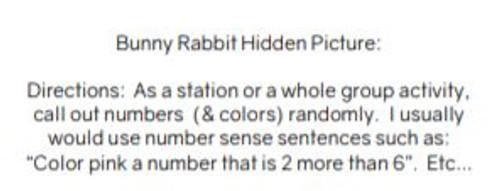 100 Chart Bunny