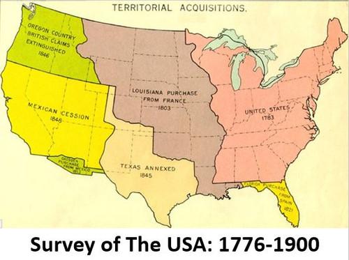 Survey of the USA: 1776-1900