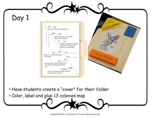 STAAR Folder Review - 8th grade US History