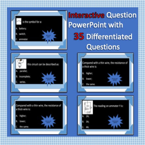 Current Electricity - 35 Question Interactive Quiz