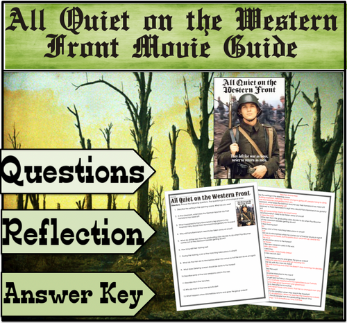 All Quiet on the Western Front Movie Guide