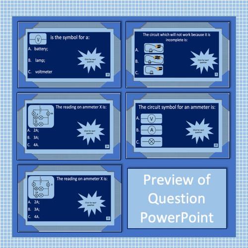 Current Electricity - Whole Module Revision Lesson