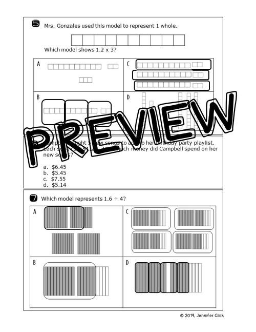 5th grade Review: Decimal Operations