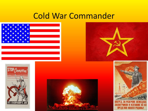 Cold War Commander: A Tabletop Game AND Mini Unit