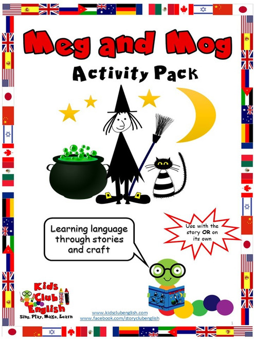 Meg and Mog Activity Pack resource cover