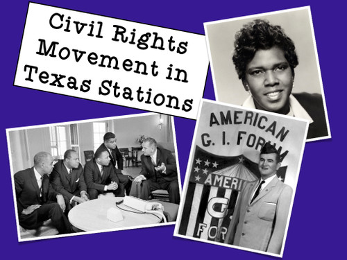 Civil Rights Movement in Texas Stations