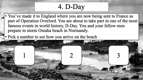 World War II/WW2 Simulation