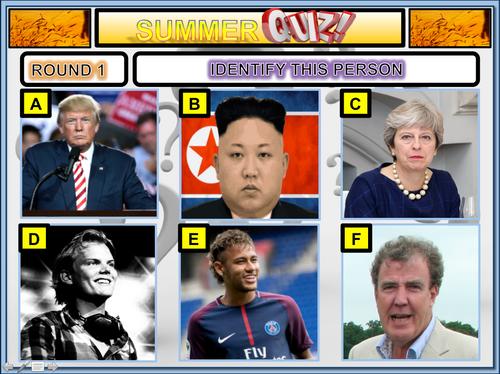 The Big summer quiz 2019