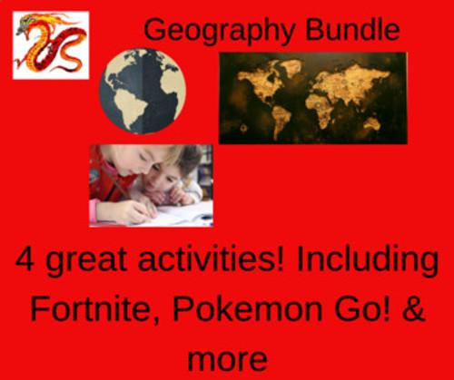 Geography Bundle: 4 Activities