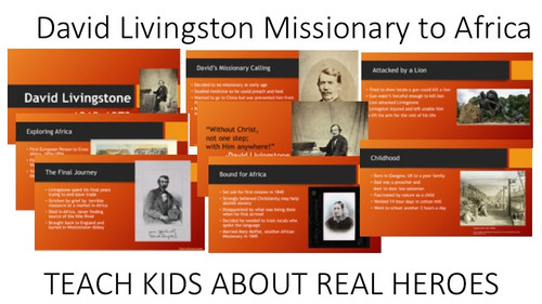 David Livingstone, Christian Missionary to Africa