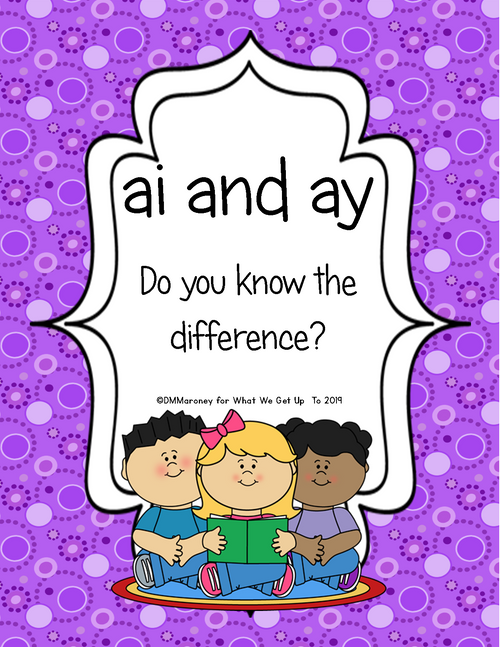ai and ay: Do You Know the Difference