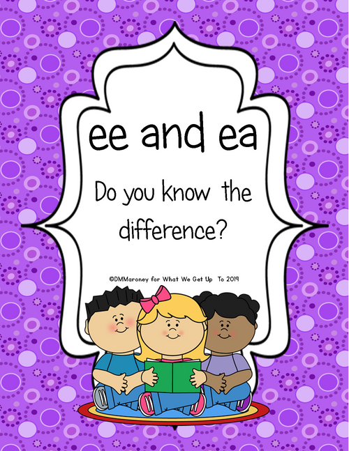 ee and ea: Do You Know the Difference