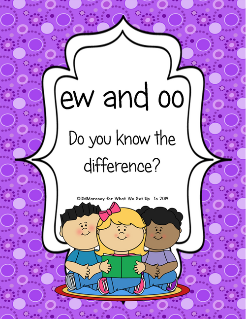 oo and ew: Do You Know The Difference