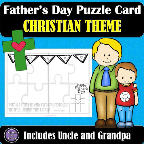 Christian Father's Day Card | Easy Father's Day Gift Idea