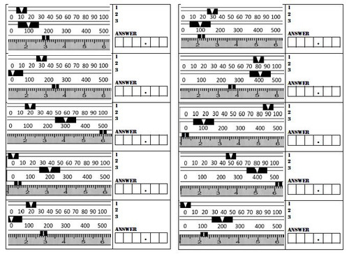 image about Triple Beam Balance Worksheet Printable identified as Reading through Against the Triple Beam Stability
