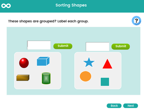 Sorting Shapes