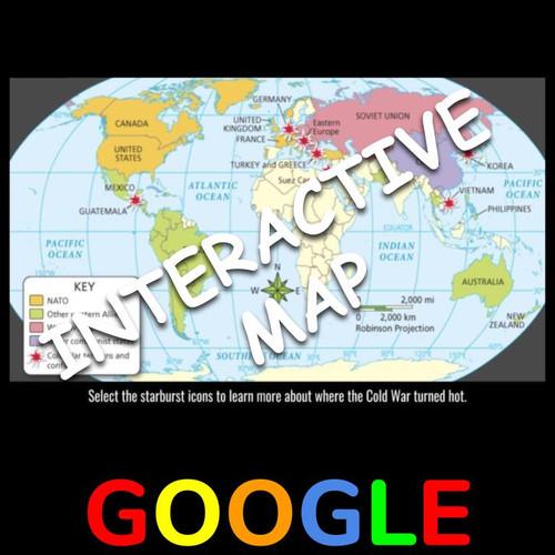 Interactive Map: Global Cold War: 1946-1956
