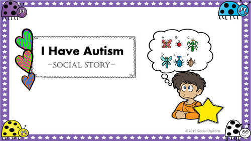 I Have Autism - Social Story