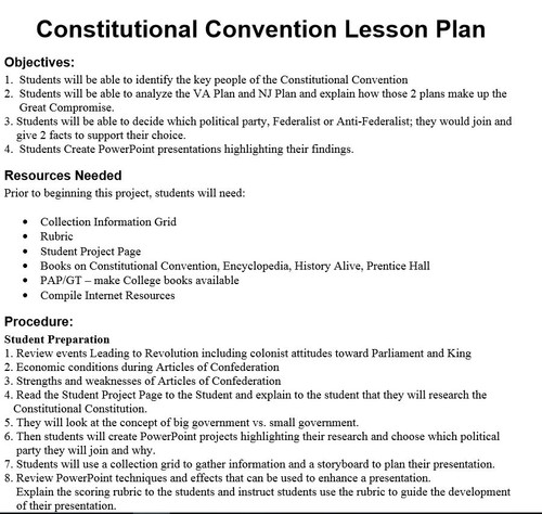 US Constitution No Prep Unit: 31 Warm Ups, 13 Activities, 3 Projects, and more.