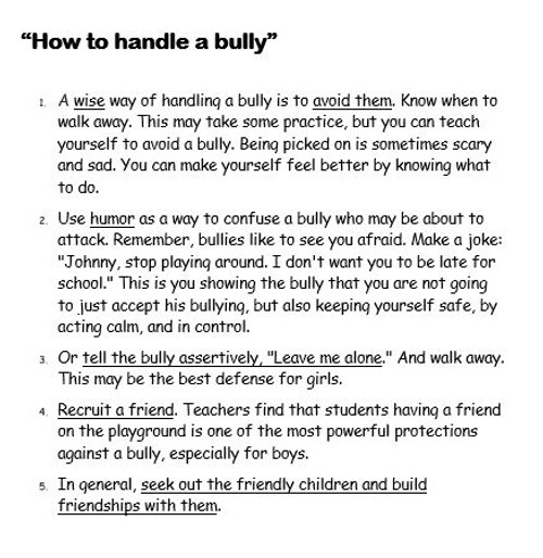 Be a Buddy-Not a Bully
