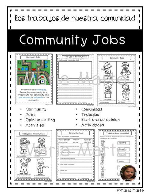 Community Jobs - Trabajos de mi Comunidad
