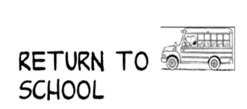"Peanuts Themed ""Return to School"" labels"