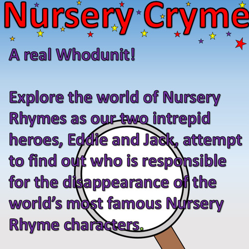 Nursery Cryme - A Playscript with 26 parts