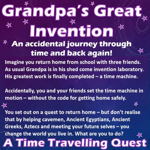 Grandpa's Great Invention - Playscript (23 main parts)