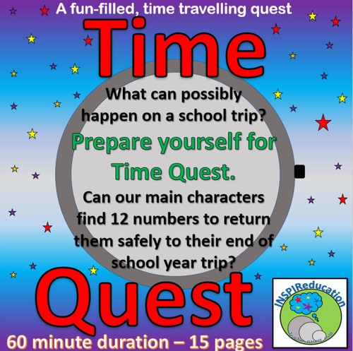 Time Quest - A Time Travelling Play Script (17 main parts)