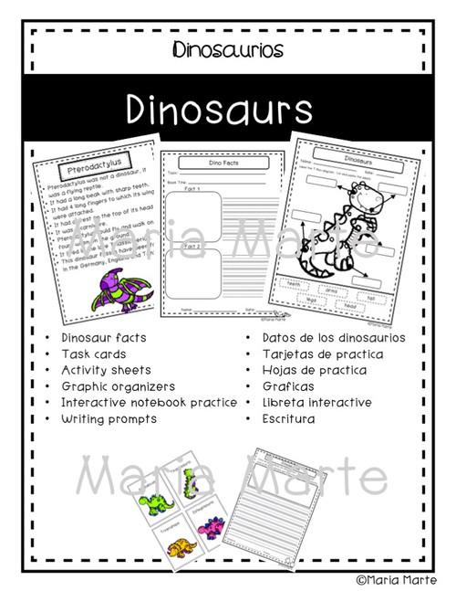 Dinosaurs-Dinosaurios