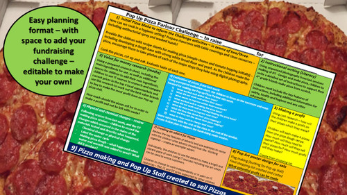 Pizza - STEM - Chemical Changes, Cooking, Planning and Fundraising