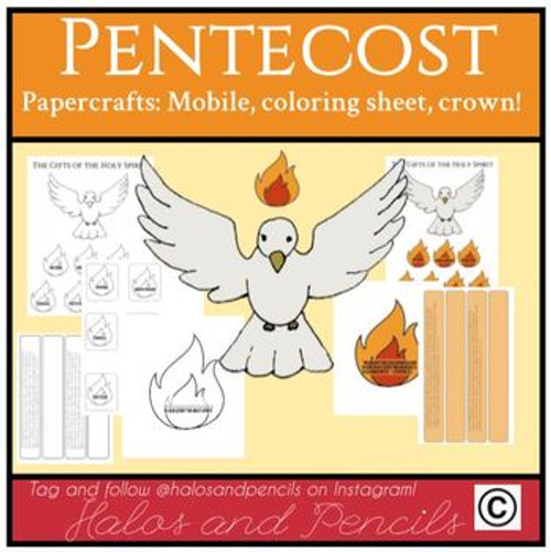 Crafts for Pentecost/ Confirmation/ Holy Spirit!